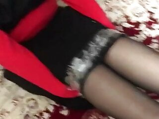 Iranian hijab cougar restrain bondage with her sapphic colleague part 1