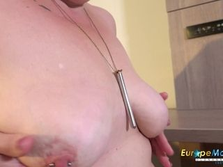 EuropeMaturE Hot Mature Candy Solo Masturbation