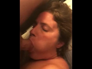 Ejaculation with a blowjow