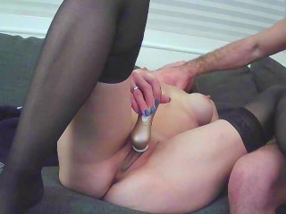 REAL fledgling French steamy light-haired ejaculations then rockets on webcam