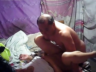 Bareback For Daddy With Asian Prostitute