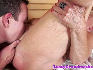 Finger nailed gilf inhaling enormous manstick