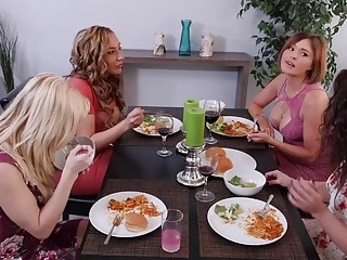 Lesbian Matures Swapping Partners P1 - Krissy & Serene