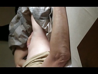 Morning jerk off by my girlfriend