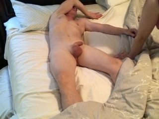 Stepmother creeps fellatio and gets facial cumshot