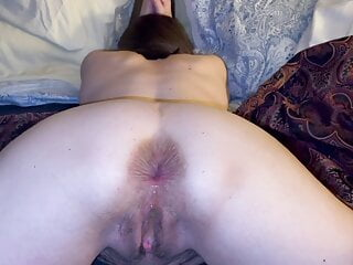 Grannie fuckbox and assfucking creampies and some farting.