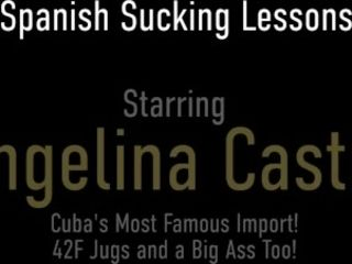 'Latina Divas Angelina Castro And Sofia Rose inhale And nail That fortunate manstick!'