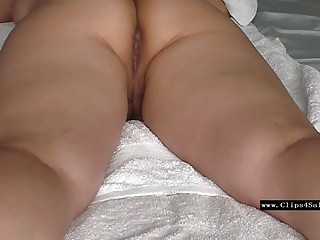 wet pussy massage 1st of 4 creampie