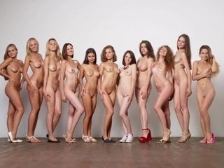 Models Undressed - Striptease