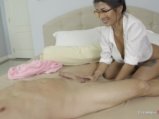Creampie Big Boobs Thai Woman