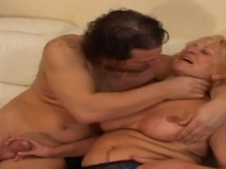 Granny Stally Gets Banged Hard And Like - grandma
