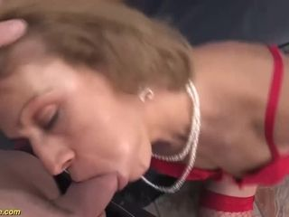 hairy 75 years old mom first time anal fucked