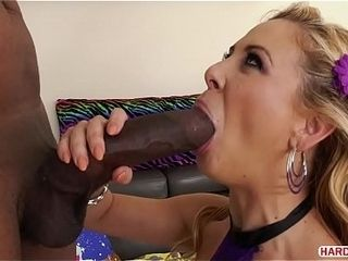 Enormous ebony dinky packed Cherie DeVille&#039_s butt hole
