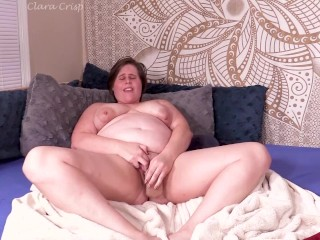 Preview: Chubby MILF Has Intense Orgasm With Dildo And Vibrator