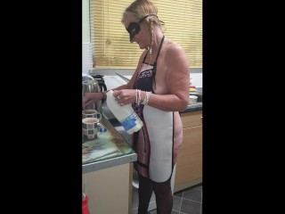 British cup of tea with mature cougar on Toctok - just cheeky fun xx