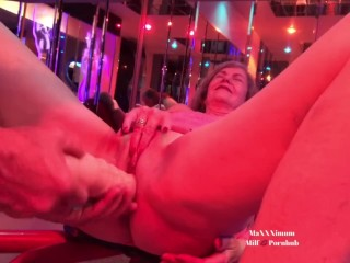 Noisy Mature cheating blows a load & drizzles From large fake penis + handballing (Full movie @OnlyFans)