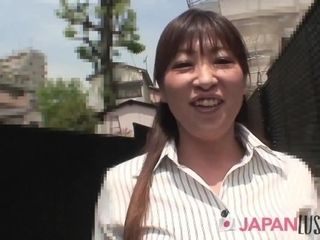 'Nozomi Oshima Has Rushed Over During Her Lunch Break'