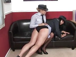 WRAF Officer Uniform Spanking