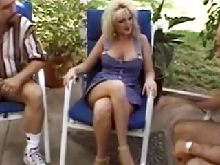 Lovely Blonde MILF Blow The Cock Of