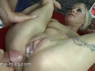 Assfucking jizm sex For Sperma-Milf Klara
