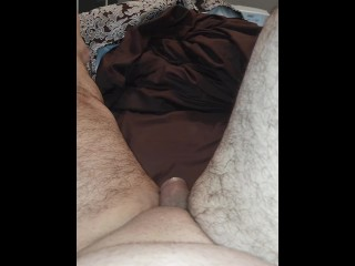 Step mother whipped out rubber making step son-in-law jizz in her honeypot (beautiful fuck)