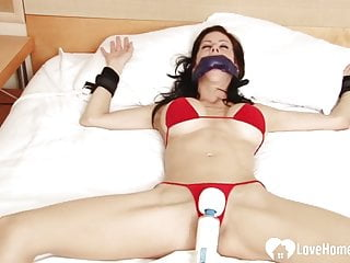 Bound-up sister-in-law Gets Pleasured By A plaything