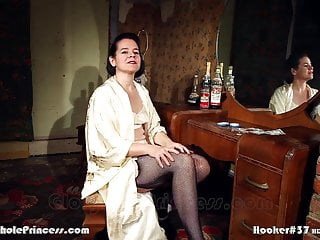 Tramp wifey plays call girl in 1950 NYC