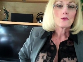 A Blowjob From Swinger Granny