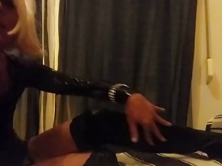 These Boots Are Made for Walking - Sexy crossdress version