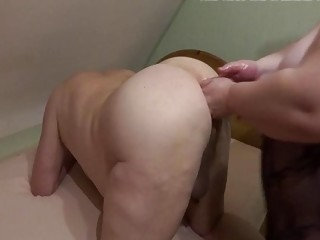New Year's anal fisting