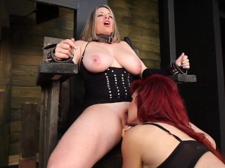 'No beefsticks permitted! Curvaceous Maggie Green Angelina Castro And killer Vanessa screw!'