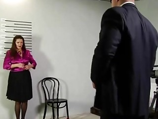 Abjecting Job audition For bodacious Russian bbw