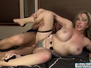 Seth pounds their way old bag stepmom-in-law