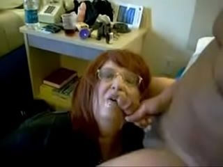 An gross breezy gets a facial cumshot