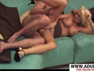 Mature super-bitch Rhyse Richards entices super-sexy twink