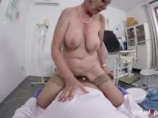 """hairy grandma fucked by her doctor"""