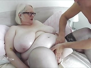 Sally's intimate oily rubdown