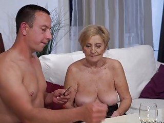 70+ GILF Is In enjoy With youthful fuckpole