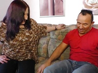 AmateurEuro - BBW Wife Gets Pounded Nice & Deep By Husband