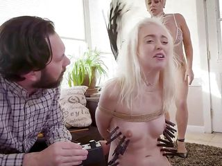 Slagdignant Stepmom Punishes Chloe reddish surroundslagg This Hot Bdsm troika