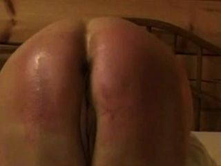 hard round mature butt hard punished