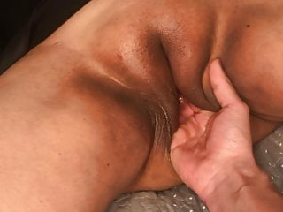 Big and tasty vulva of my lecturer with numerous busts, 4k