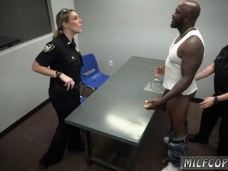 2 super hot police cougars attempt bbc!