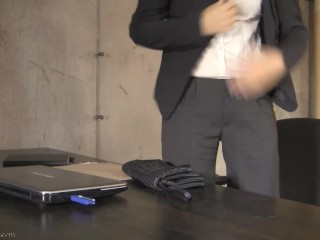 Conference Call - Star Nine Wet And Messy Food Masturbation FULL VIDEO