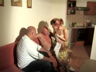 2 Old Men Pounded Young Girl Delta White