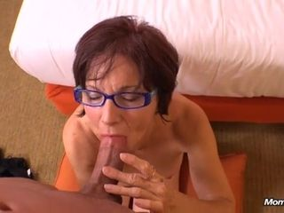 Granny satiates firm dinky with all her romp practice