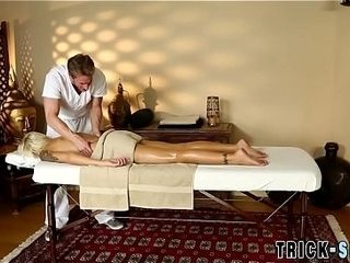 Milfs contraband spermed at the end of one's tether masseur