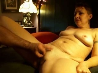 This whore loves to pinch her nipples when I'm playing with her snatch