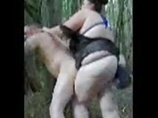 Pegging in the woods