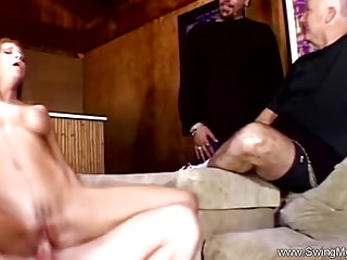 Hideous Redhead Swinger get hitched